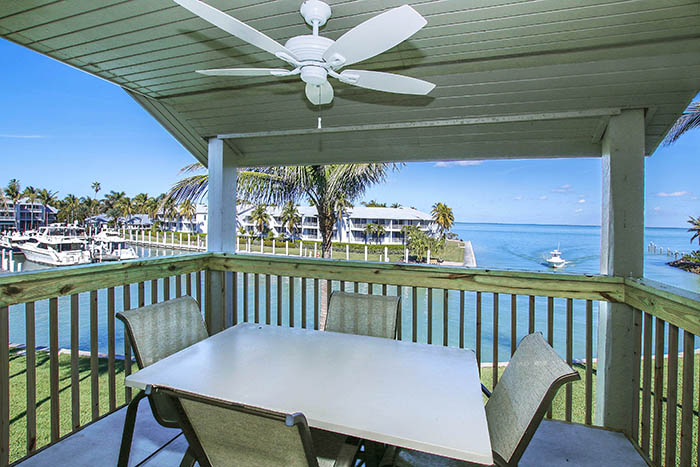 Deck view from South Seas Marina Resort on Captiva Island