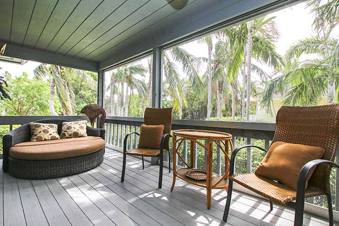 Deck view from Sunset Captiva Vacation Rental Home