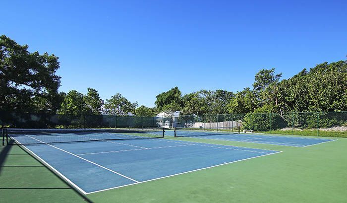 Tennis Courts at Sunset Captiva Community