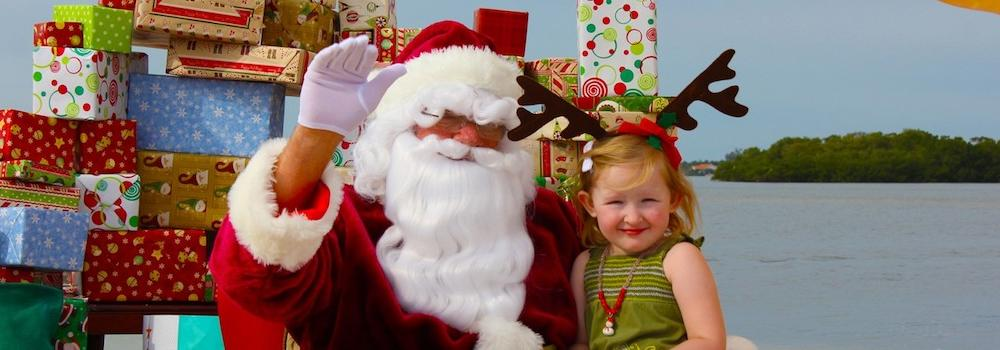 Santa in Sanibel