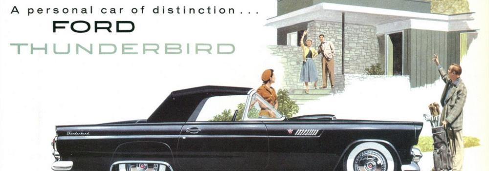 Ford Thunderbird Exhibition