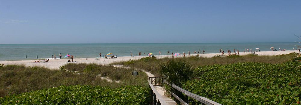 Located On Both The Sanibel And Captiva Side Of Blind P Bridge This Beach Is Por With Shellers Fishermen Signs Warn Against Swimming