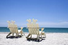 beach chairs on sanibel island